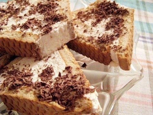 Десерт из творога и печенья рецепт