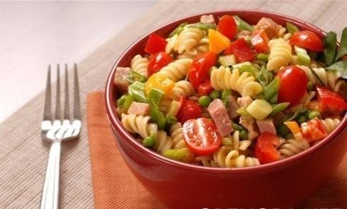 Итальянский овощной салат с фото