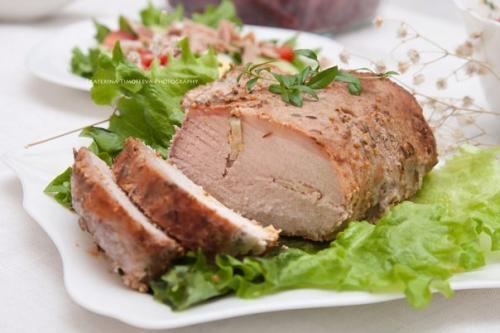 Запеченное мясо рецепты с фото