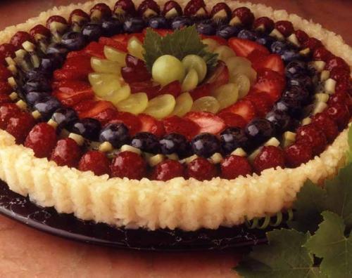 Рецепты вкусных тортов фруктами фото