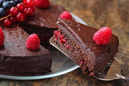 Торт с ягодами орехи рецепт с фото