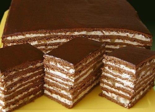 Торт с рецепт с фото