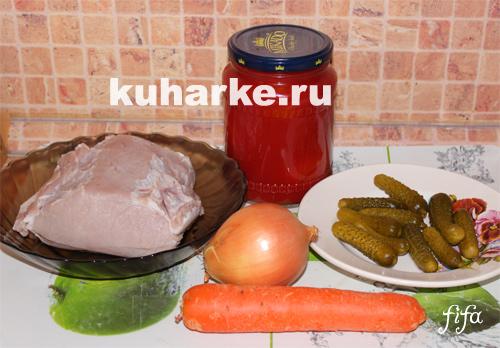 рецепт азу в мультиварке со свининой рецепт