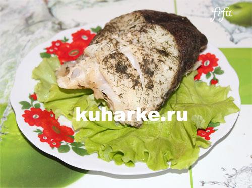 Рыба треска в мультиварке на пару рецепт
