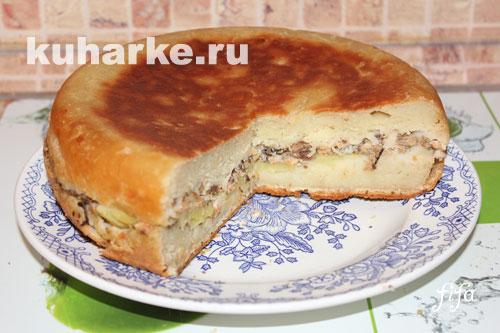 Простой пирог из кефира в мультиварке рецепты