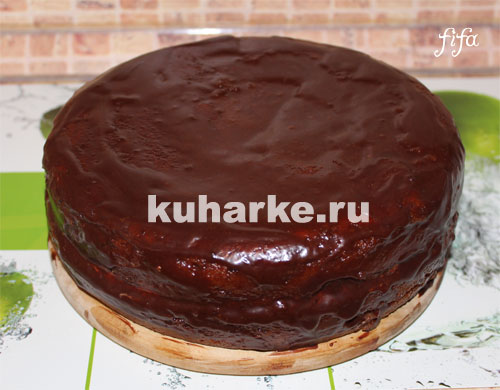 Глазурь торт прага рецепт