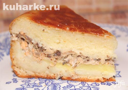 Пироги с рыбой в мультиварке рецепты с фото