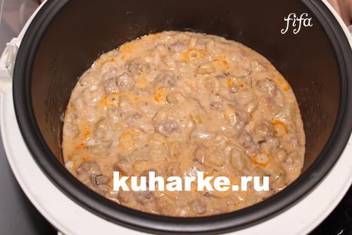 рецепт мясной запеканки в мультиварке