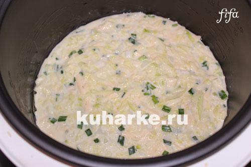 как приготовить запеканку из кабачков с сыром в мультиварке